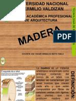 Exposicion Madera Arquitectura
