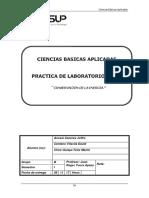 David Centeno Vilavila - Cien_Apli Laboratorio 04 Conservacion de La Energia