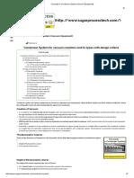 Concepts in Condenser System (Vacuum Equipment)