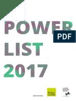 Innovate Finance Women in Fintech 2017 Powerlist