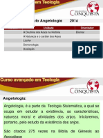 Teologia- Angelologia 2016