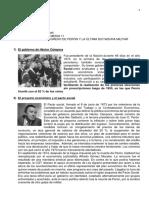 El Regreso de Perón y La Última Dictadura Militar