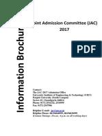 Jac Information Brochure 2017