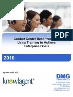 Using Training to Achieve Enterprise Goals