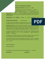 Modelo Acta de Terminacion y Liquidacion