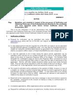 Xii Notice of Verification & Photocopies-2017