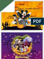 Halloween Diplome