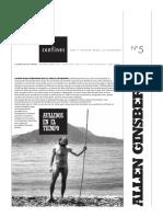 Allen Ginsberg  poemas en revista