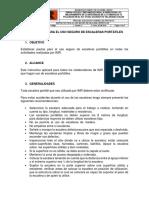 IMR- Instructivo Para El Uso Seguro de Escaleras Portátiles