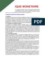10_Fiche_POLITIQUE_MONETAIRE.doc