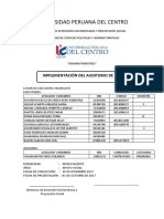 Universidad Peruana Del Centro Informe