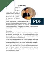 Álvaro Uribe biografia