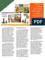 ethics newsletter