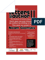 Letters Noam Chomsky