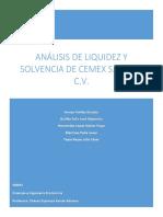 Liquidez y Solvencia de Cemex-1