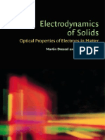 Electrodynamics of Solids - Dressel Gruner