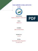 Tarea 1 Planificación Educativa y Gestión Áulica