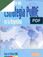 Aportes para una estrategia PYME en la Argentina