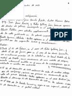 Carta en la que solicitan la rectificación a la revista Semana