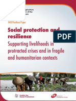 Social protection and resilience Supporting livelihoods in protracted crises and in fragile and humanitarian contexts