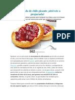 Mermelada de Chile Picante