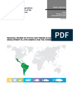 Regional Review on Status and Trends in Aquaculture Development in Latin America and the Caribbean – 2015