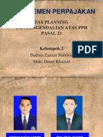 TP Dan Pengendalian PPH 21
