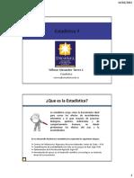 Clase 2 - Estadística II 2015 I uniajc