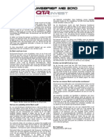 Nieuwsbrief QTR Fund - Mei 2010
