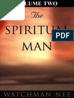 The Spiritual Man Volume Two Watchman Nee