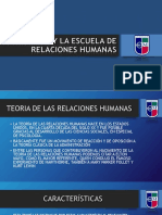 ELTON MAYO Y LA  ESCUELA DE RELACIONES HUMANAS