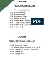 Ubidad Xxi Redes de Distribución