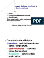 Metais e Semicondutores