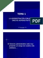Tema 1_la Administración Pública y El Derecho Administrativo_2016