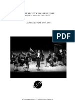 Peabody Conservatory Catalog 2008-9