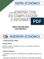 Clase 1. Fundamentos de Ing. Economica CC-B81