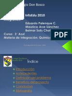 Infoedu 2010 QUIMICA