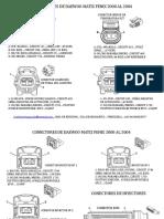 Conectores de Daewoo Matiz 2000 Al 2004 Fenix Realizado Por Jose Luis Velasquez Romero