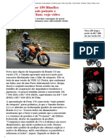 Yamaha Lança Fazer 150 Blueflex Afirmando Que é Mais Potente e Econômica Que a Titan; Veja Vídeo - Duas Rodas - Notícias, Testes, Vídeos e Lançamentos de Motos