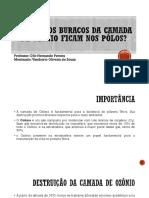 Seminário (Camada de Ozônio) - Vamberto Souza