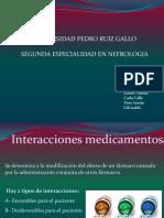 Interaccion Medicamentosa y Reacciones Adversas