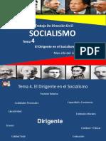 Tema 4 El Dirigente en El Socialismo