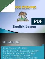 Presentation English Lesson