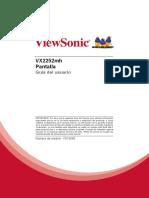 Manual de Pantalla Viewsonic