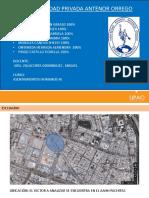Analisis sobre asentamiento humano en arquitectura