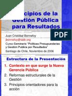 Lectura Obligatoria 1.- Principios de La Gestion Publica Por Resultados