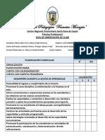 Ficha de Observacion de Clases