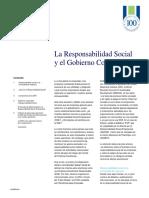 Responsabilidad Social y Gobcorp
