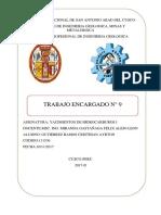 TRABAJO ENCARGADO N°9