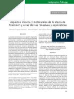 Aspectos clínicos y moleculares de la ataxia de friedreich.pdf